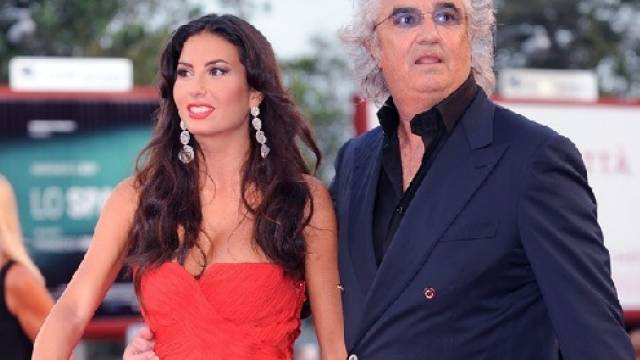Flavia Briatore mit Frau Elisabetta