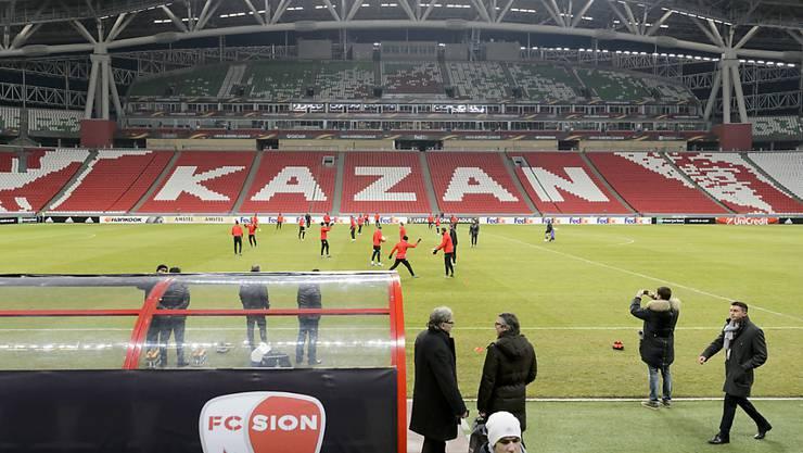 In der nächsten Saison finden sicher keine Europacupspiele in Kasan statt