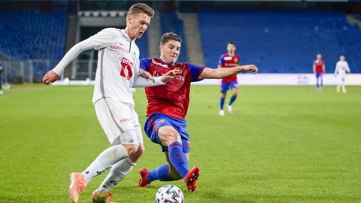 Tician Tushi gehört gegen Luzern zu den besten Baslern.