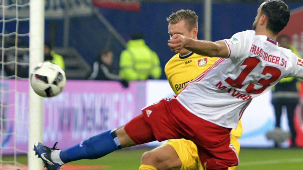 Der Hamburger SV feierte gegen Bayer Leverkusen den ersten Sieg im neuen Jahr