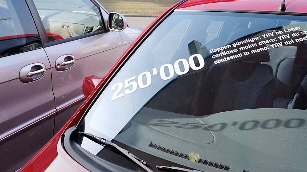 Hochkonjunktur für Autohändler: Die Nachfrage nach neuen Autos hat im September deutlich angezogen.
