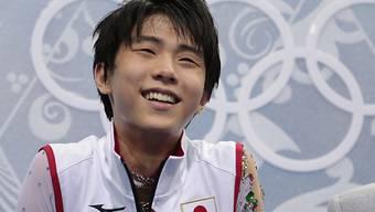Gold: Yuzuru Hanyu kann sein Glück kaum fassen