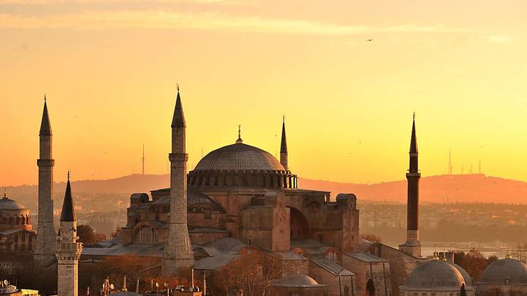 Nach 85 Jahren als Museum zurück zur Moschee: Die Hagia Sophia in Istanbul. (Archivbild)