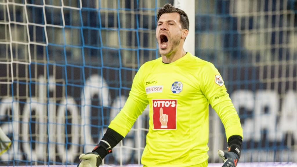 Marius Müller war der Luzerner Held in Lugano