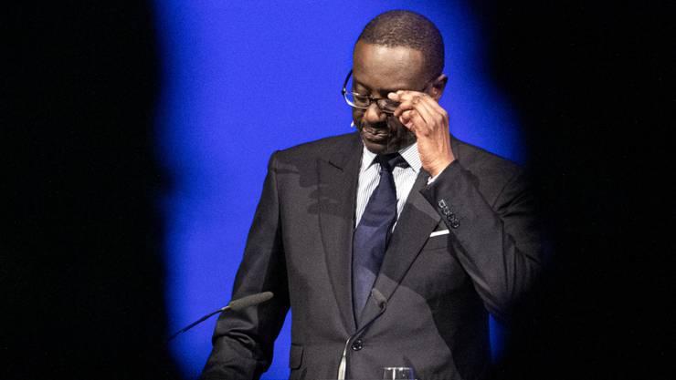 CS-CEO Tidjane Thiam: Er steht inzwischen auch unter verschärfter Beobachtung der Finma (Archivbild).