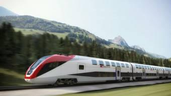 Zumindest in der Visualisierung gibts keine Probleme: Die neuen Twindexx-Züge von Bombardier lassen auf sich warten. Foto: luischomiak.com