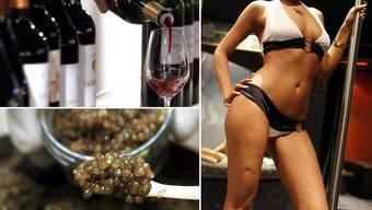 Der Angeklagte gab rund 100 000 Franken der veruntreuten Gelder für Wein, Kaviar und Prostituierte aus. (Symbolbild)