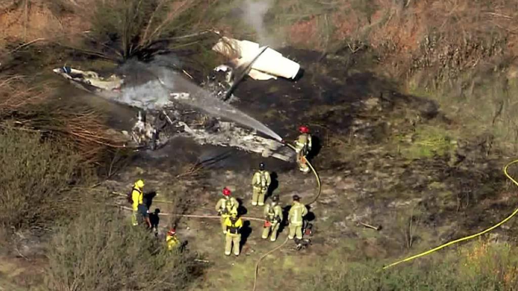 Vier Tote bei Absturz von Kleinflugzeug in Kalifornien