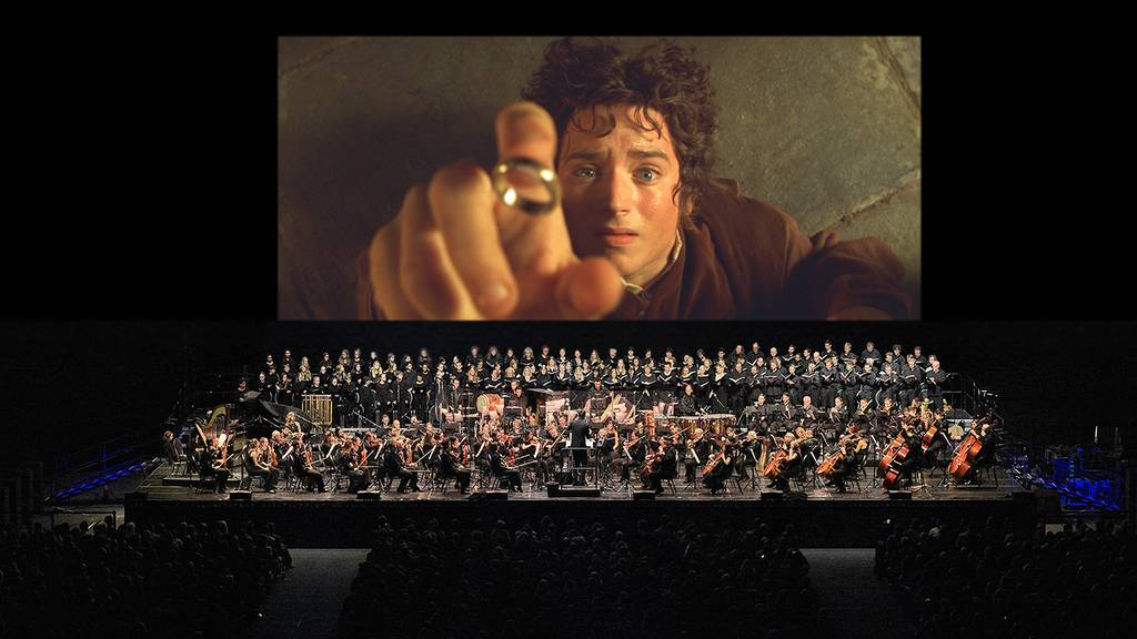 21st Century Orchestra mit Lord Of The Rings im Hallenstadion