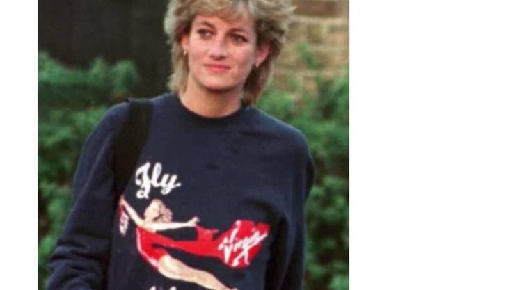 War einem Sammler über 50'000 Dollar wert: Ein Pulli der 1997 verstorbenen britischen Prinzessin Diana.