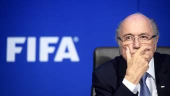 Unter Beschuss: Der frühere Fifa-Präsident Sepp Blatter.