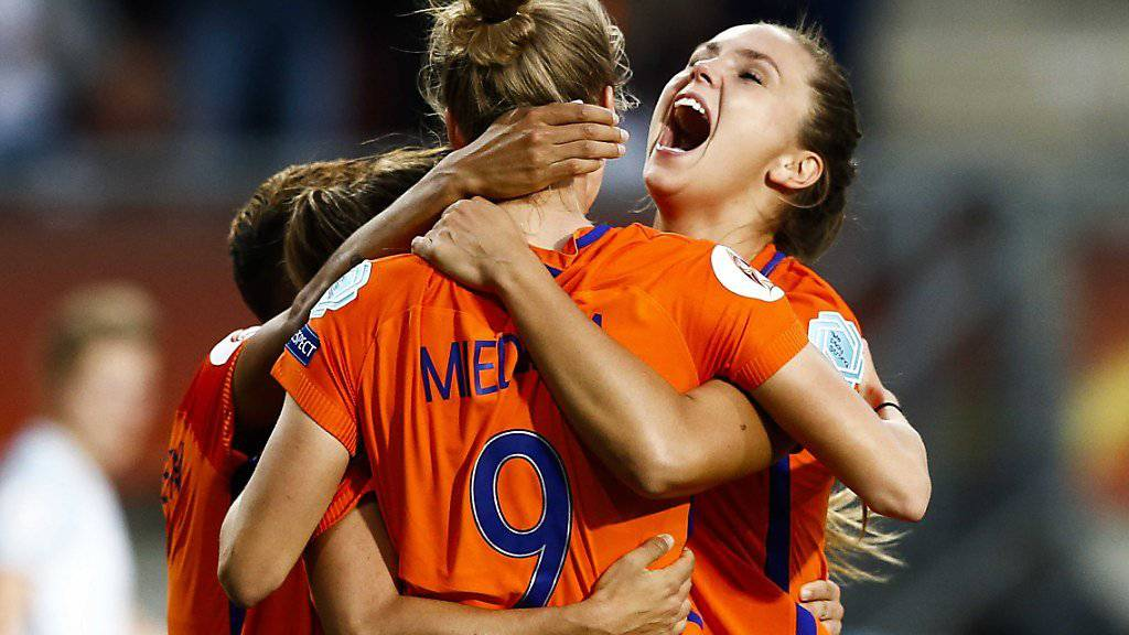 Für die Niederländerinnen geht der Traum vom EM-Titel im eigenen Land weiter
