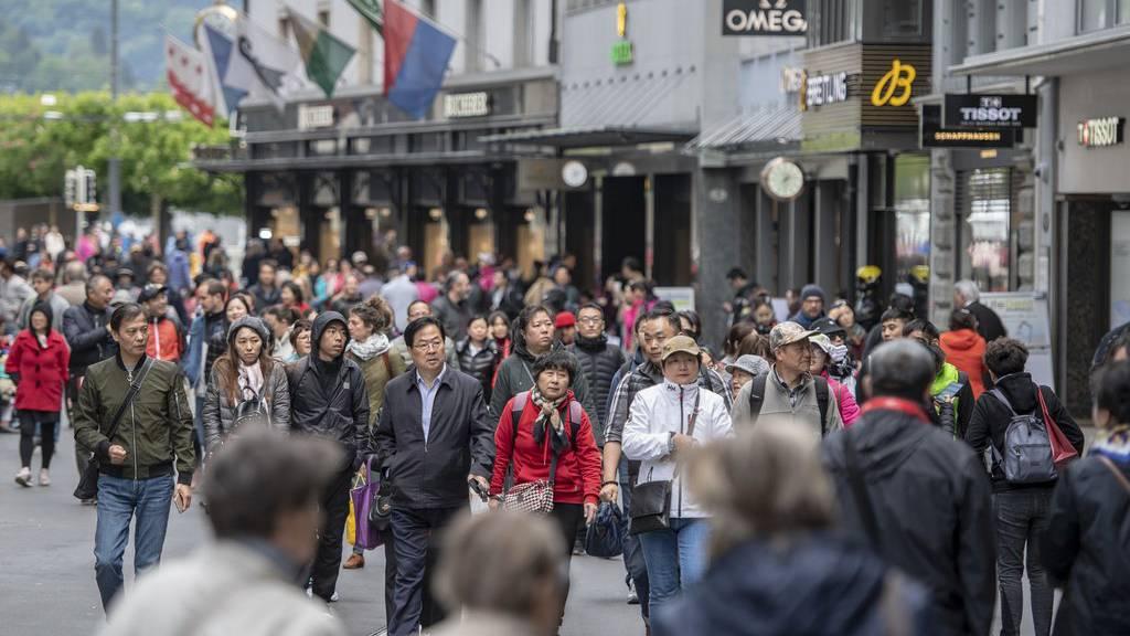 12'000 Asiaten besuchen auch Vaduz