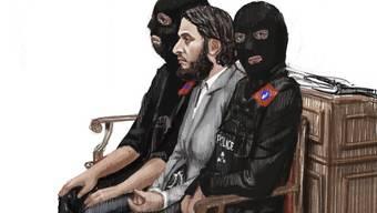 Prozess in Brüssel gegen Terroristen