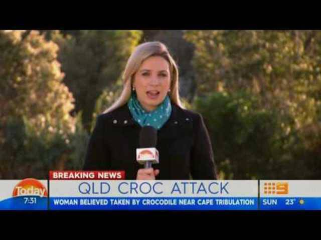 Touristin von Krokodil in Australien attackiert