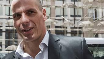 Der griechische Finanzminister Varoufakis am Montag in Brüssel