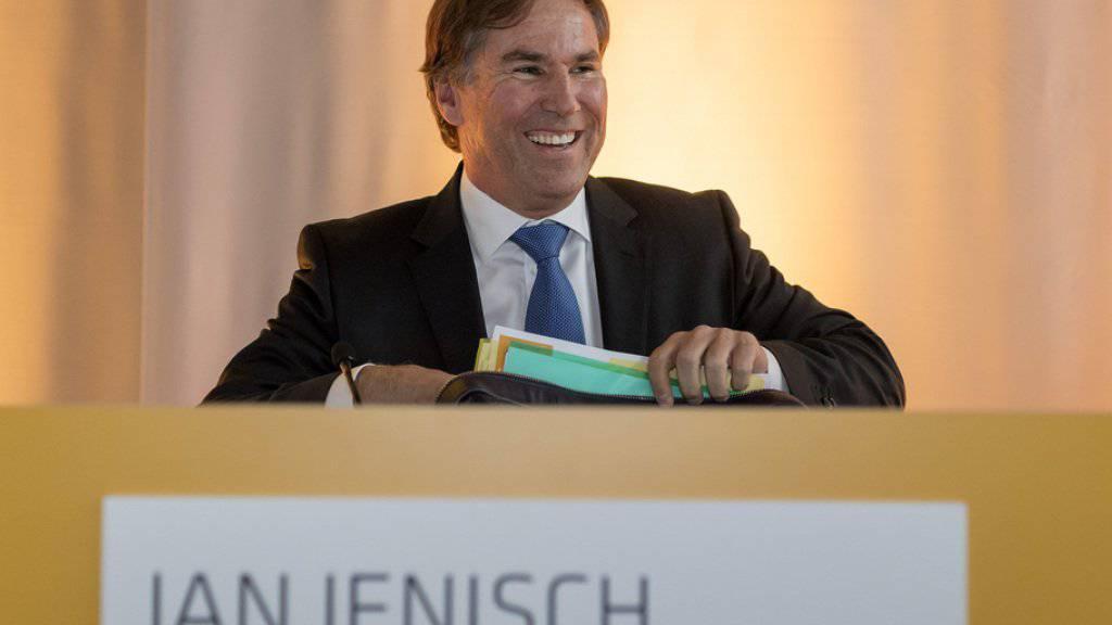 Jan Jenisch muss die Strategie des Zementkonzerns vorantreiben: Dabei geht es vor allem um die Steigerung der Profitabilität und die Nutzung von Synergien nach dem Schulterschluss von Lafarge und Holcim. (Archiv)