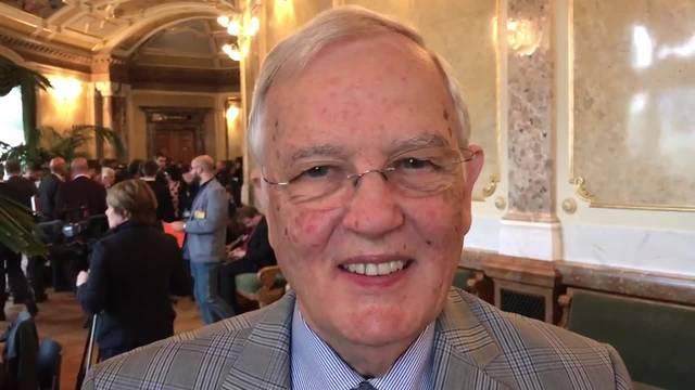 Hans Rudolf Gysin verpasst beinahe die Bundesratswahl.