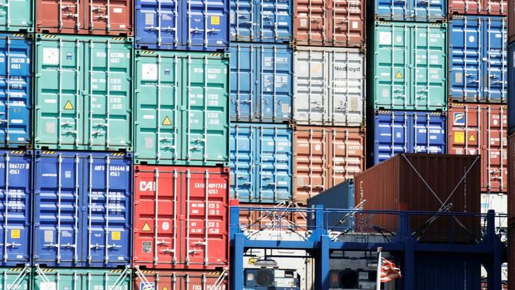 Das Kulturprojekt «Contenus» thematisiert ContainerS. Bodmer/Archiv