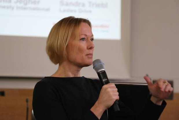 Nicole Althaus, Chefredaktorin von Wir Eltern