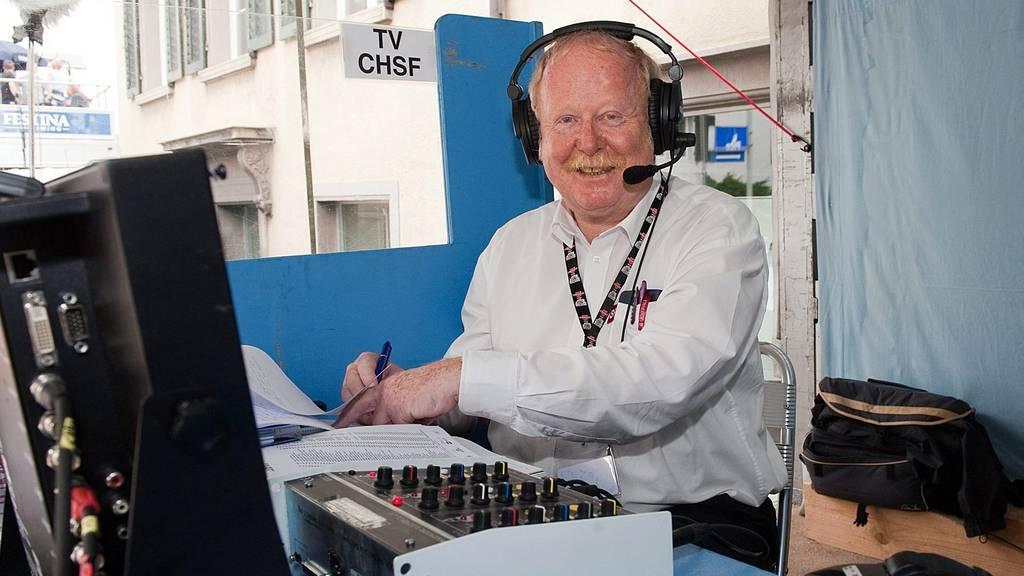 Vor zehn Jahren verstarb der Sportkommentator Hans Jucker