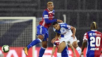 Akanji und der FCB holen gegen GC nur einen Punkt.
