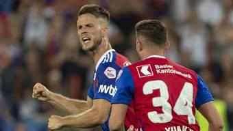 Impressionen EL-Qualifikation: FC Basel - Apollon Limassol (23.08.18)