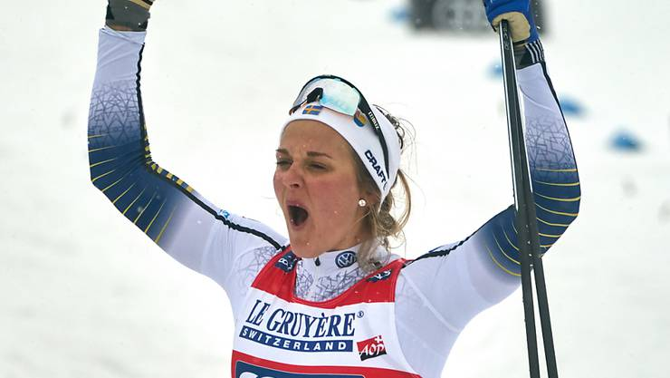 Stina Nilsson hat allen Grund zum Jubeln.
