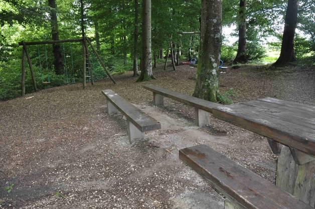 Sachbeschädigungen bei der Waldhütte in Niederbuchsiten