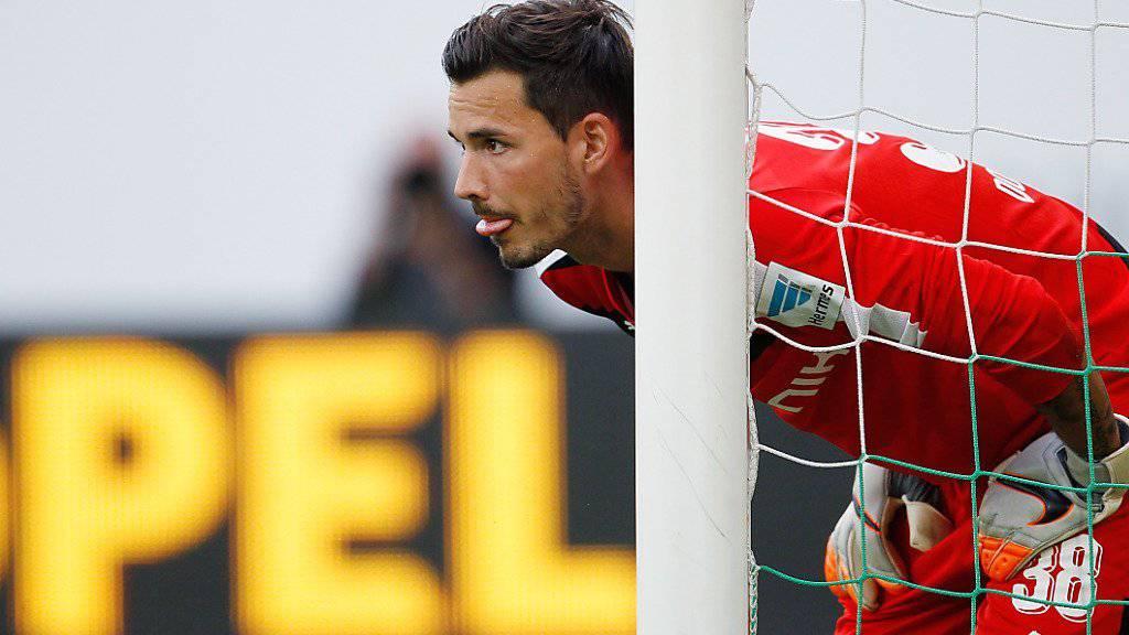 Gegen die Bayern im Schaufenster der Bundesliga: Dortmunds Goalie Roman Bürki
