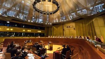Wird hier bald auch über bilaterale Verträge mit der Schweiz verhandelt? Der Europäische Gerichtshof in Luxemburg.Laurent ANTONELLI