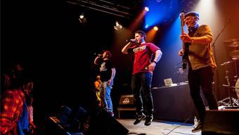 Auch nach 19 Jahren auf der Bühne bieten die Jungs von Brandhärd eine energiegeladene Show.