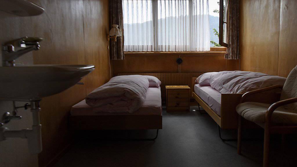 Heute dient der Ort als nationale Gedenkstätte für Heim- und Verdingkinder: Zimmer im früheren Kinderheim Mümliswil im Kanton Solothurn. (Archivbild)