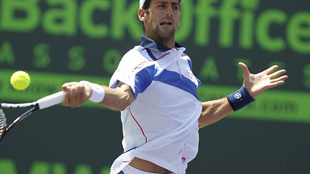Novak Djokovic Sieger in Key Biscayne