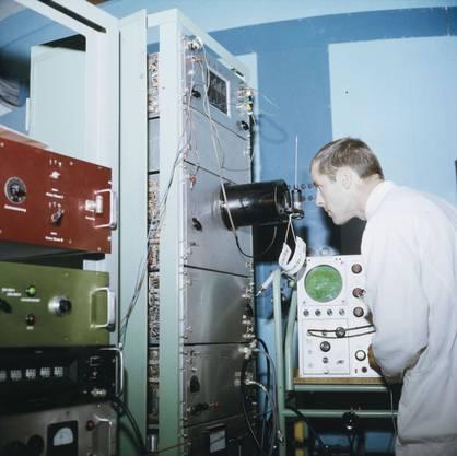 Eidgenössisches Institut für Reaktorforschung in Würenlingen 1960.