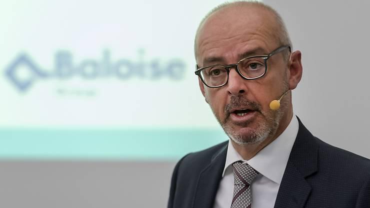 Bâloise-Chef Gert De Winter kann einen Gewinnsprung im vergangenen Jahr bekannt geben. (Archiv)