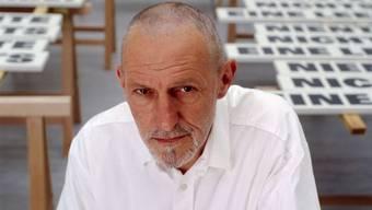 Der 2005 verstorbene Schweizer Künstler Rémy Zaugg