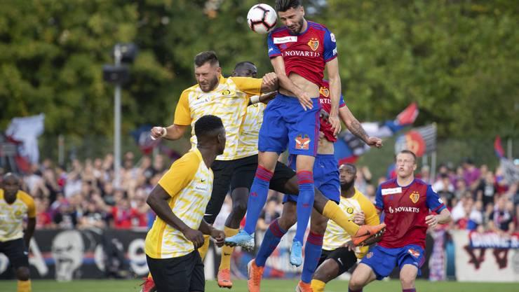 Kemal Ademi fehlt dem FC Basel mit einer Gehirnerschütterung einige Tage.