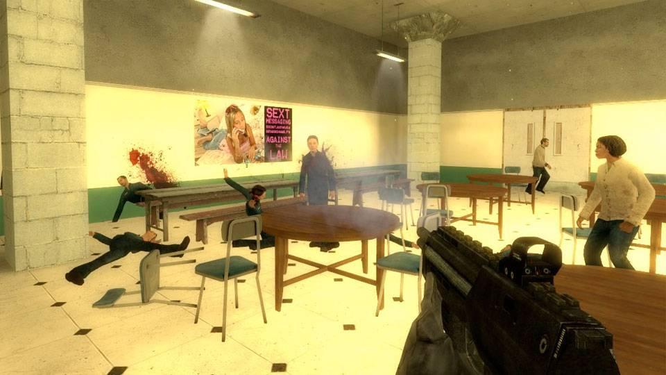 Schul-Amoklauf als Videospiel