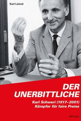 Wirtschaftspublizist Karl Lüönd hat rechtzeitig zu Karl Schweris rundem Geburtstag eine Biografie veröffentlicht. Er beschreibt ihn als Visionär und Störenfried der Kartellwirtschaft. Für das Buch hat Denner erstmals die Archive geöffnet. Mehr zum Buch hier.