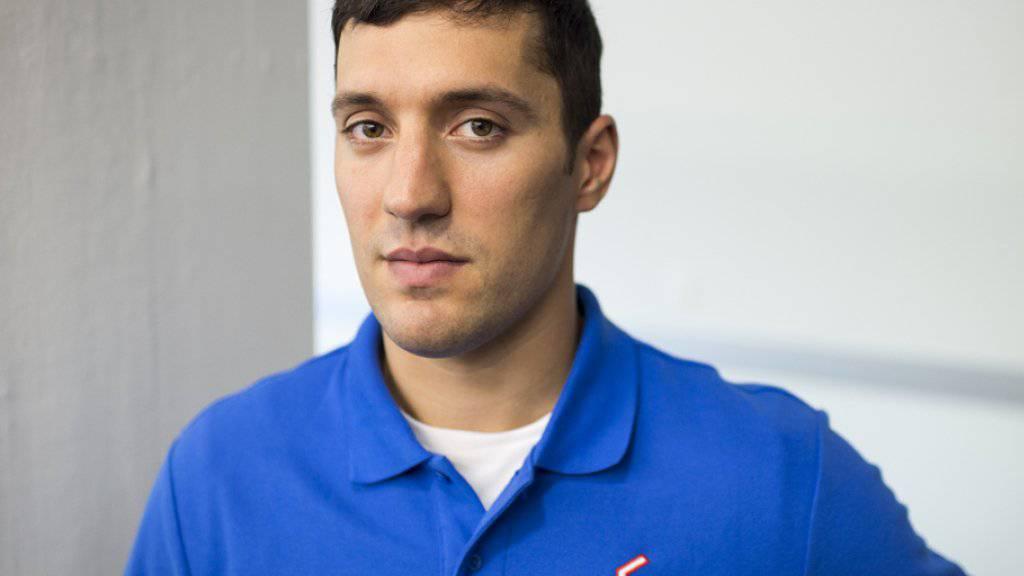 Victor Stancescu, Captain der Kloten Flyers und mutmasslich einziger Jurist in der Nationalliga A (Archiv).