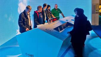 Der Auftritt der SWL Energie AG zog an der letzten Ausstellung viel Publikum an.Efu