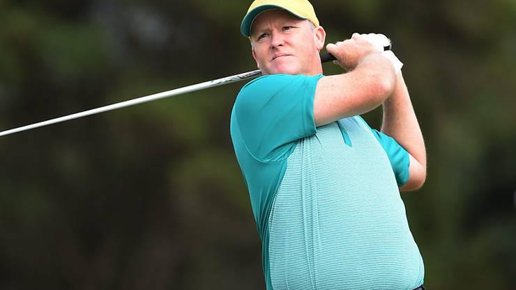 Marcus Fraser war die Überraschung zum Auftakt des olympischen Golfturniers