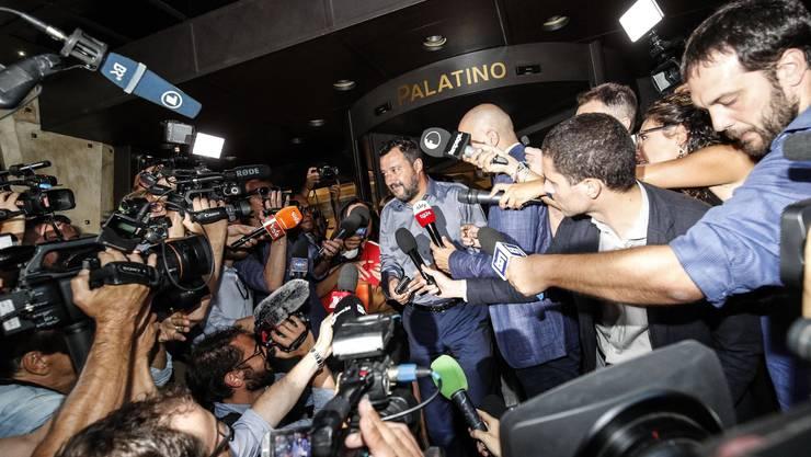 Alle Blicke sind auf Lega-Chef Matteo Salvini gerichtet. Wird er neuer italienischer Ministerpräsident?