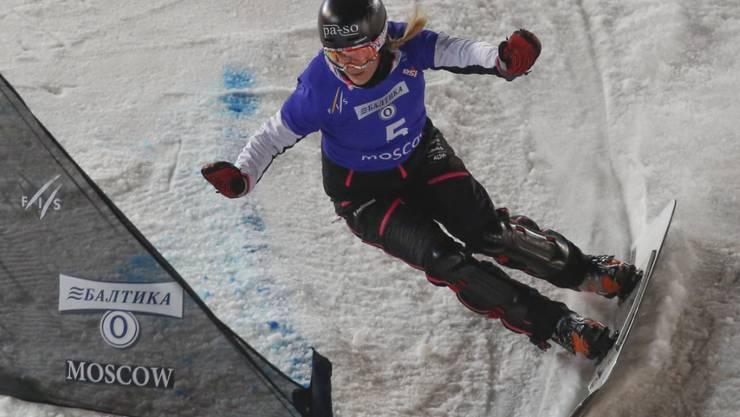 Die Walliserin Patrizia Kummer feierte den ersten Saisonsieg