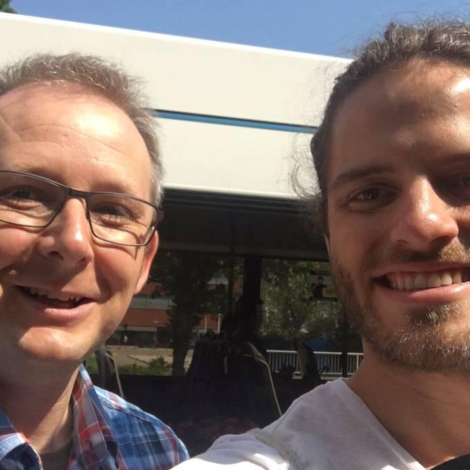Unterwegs mit Buschauffeur Felix im 31er Bus