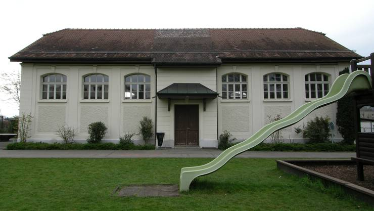 Die Alte Turnhalle gehört wie Gemeindehaus und Schulgebäude zum Aufgabengebiet der Gemeinde-Hauswarte.