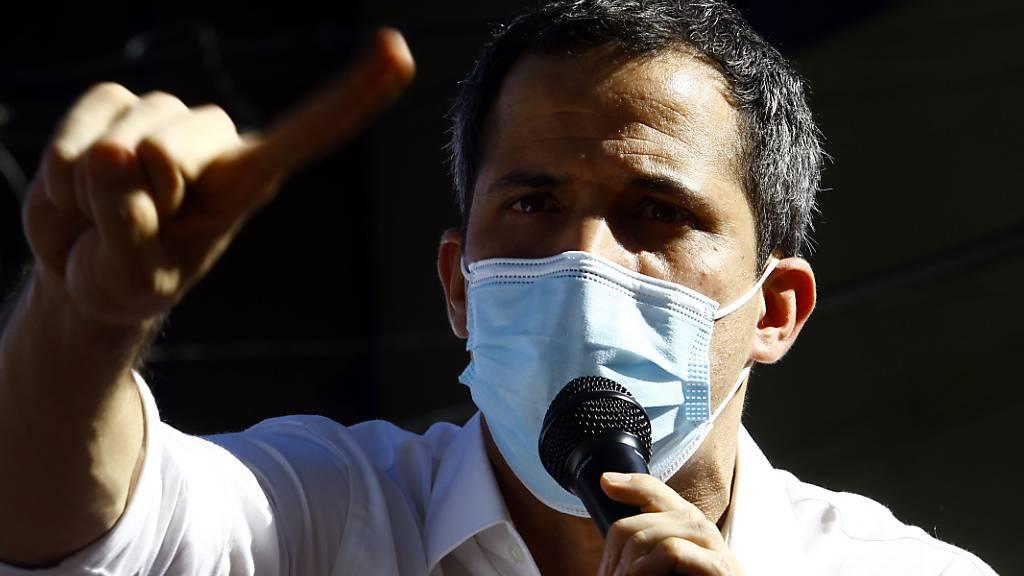 Guaidó: «Situation in Venezuela ist ziemlich kritisch»