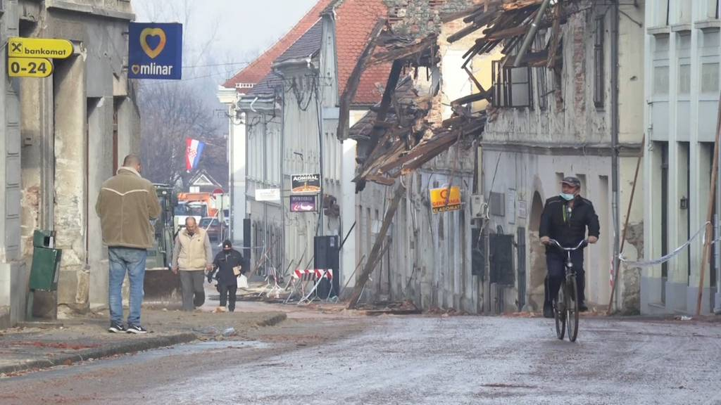 Kroatien: Nachbeben halten Petrinja wach