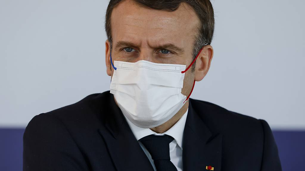 Emmanuel Macron, Präsident von Frankreich. Foto: Thomas Samson/POOL AFP/AP/dpa